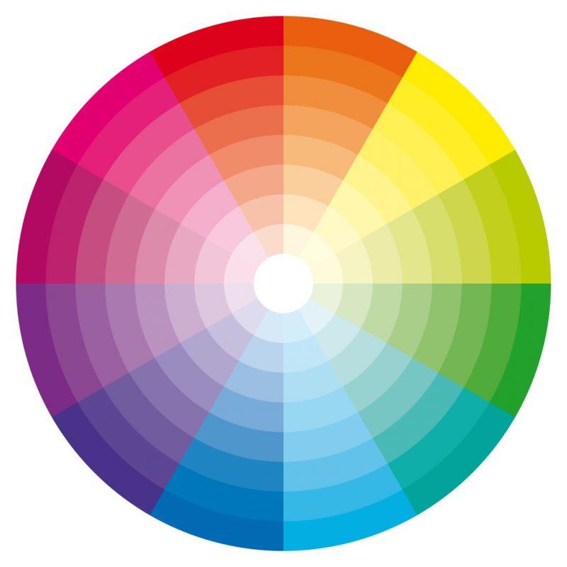 دائرة الألوان