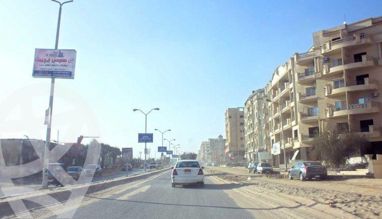 صورة لشارع بمنطقة الهضبة الوسطى