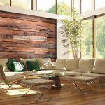 حوائط خشبية مودرن