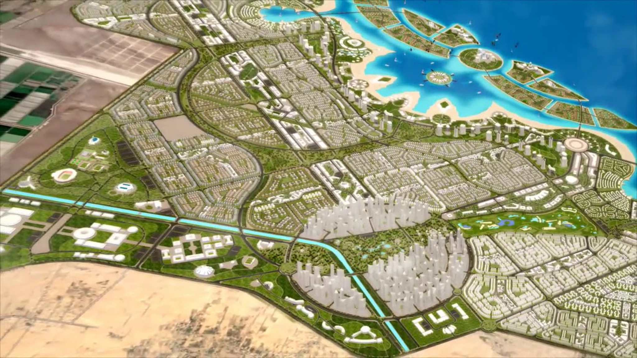 المدن الذكية بمصر - مدينة بورسعيد الجديدة