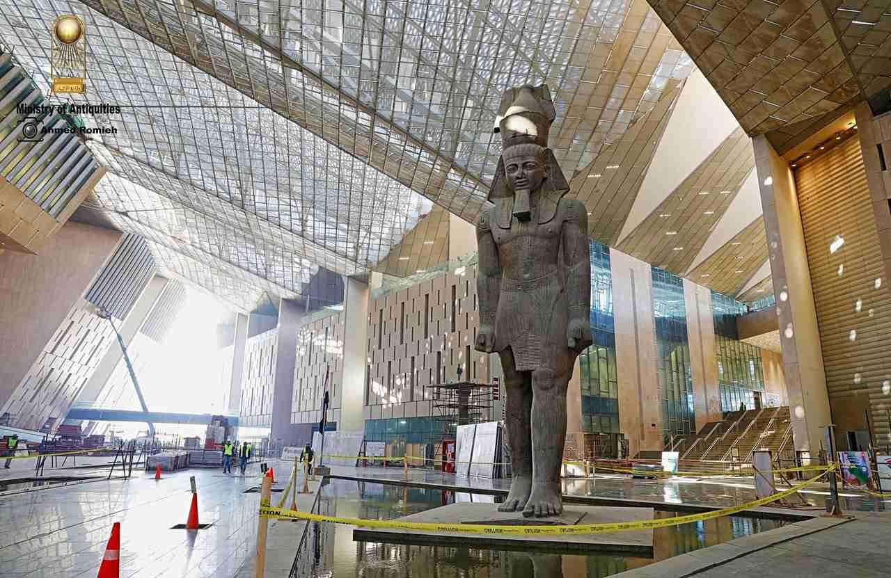 المتحف المصري الكبير - أجزاء المتحف