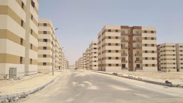 حي المجد في العبور الجديدة