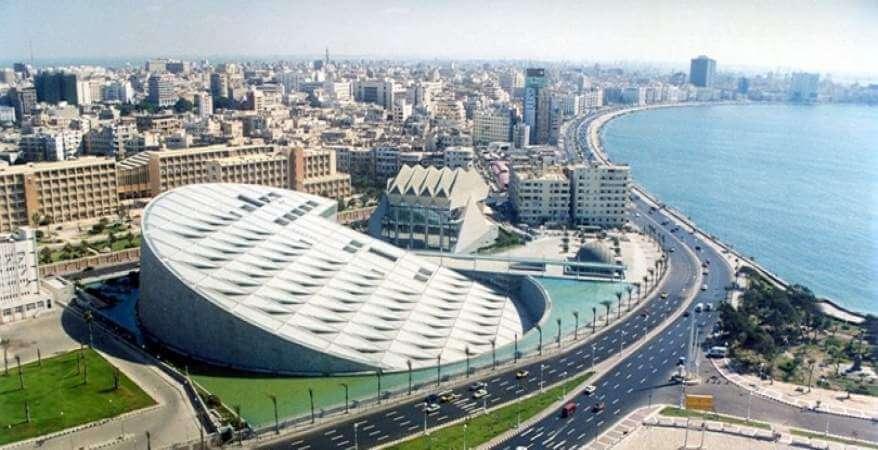دليلك الكامل عن مدينة الإسكندرية - المكتبة