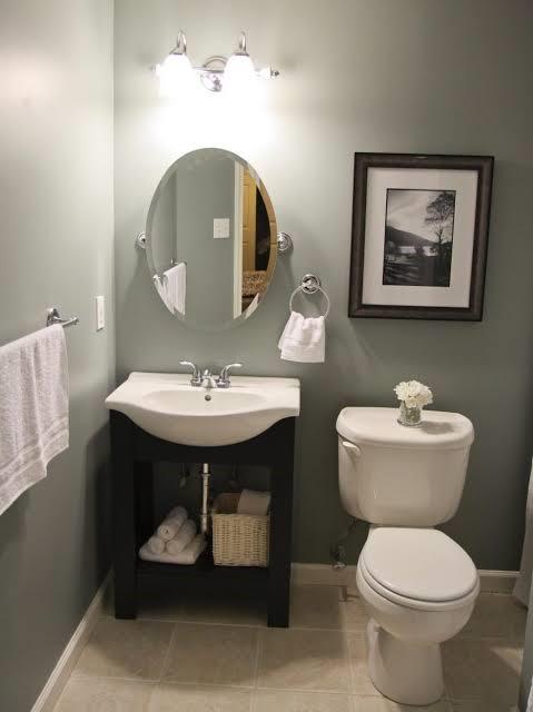 نصائح لديكورات الشقق الصغيرة - الحمام