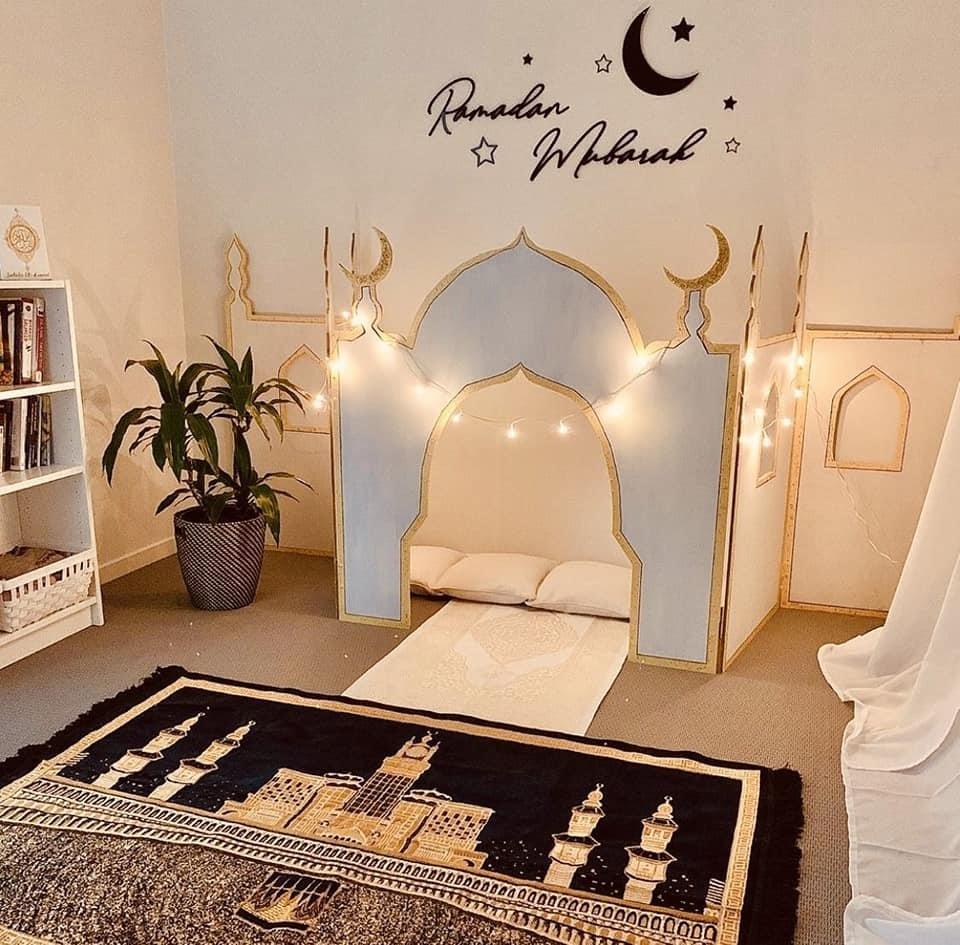 ركن رمضاني في منزلك