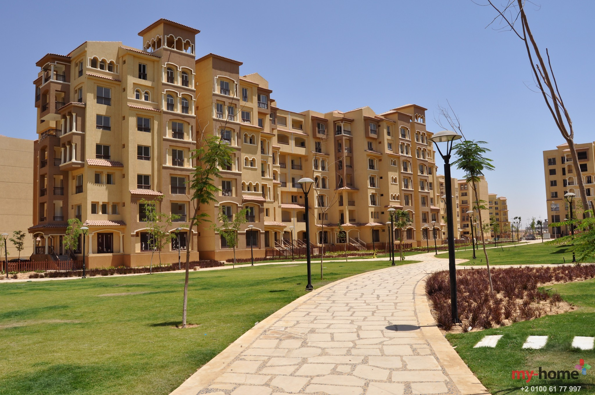 Explore the privileges of living in Madinaty